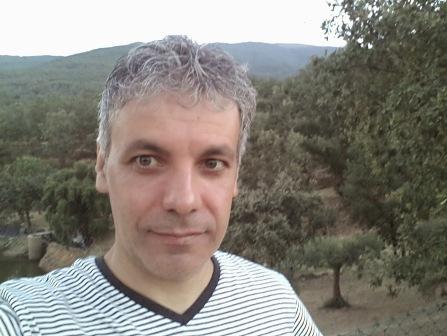 Pedro Loupa en el curso de meditación Vipassana
